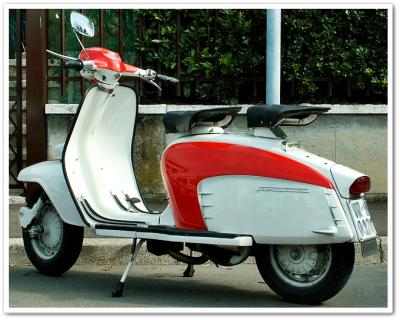 Lambretta itu BUkan Vespa, Baca Sejarahnya Disini!